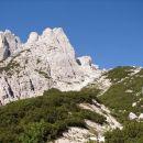 na poti proti bivaku Gorizia