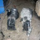 E30 320 gearbox on the left. E36 325 gearbox on the right. Im using gearbox from E36 of co