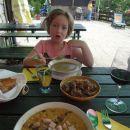 Domača hrana; ajdovi žganci in jurčkova juha ter ješpren!