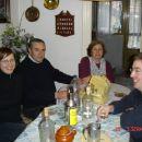 Kosilo v Torrelavegi pri Marii Antonii in Luciu (16.4.2005)