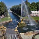 Petrova palača, park.