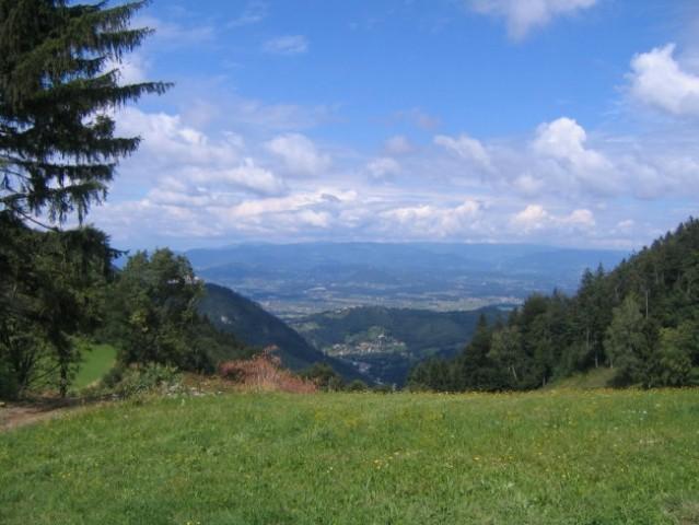 Pogled iz Šmohorja