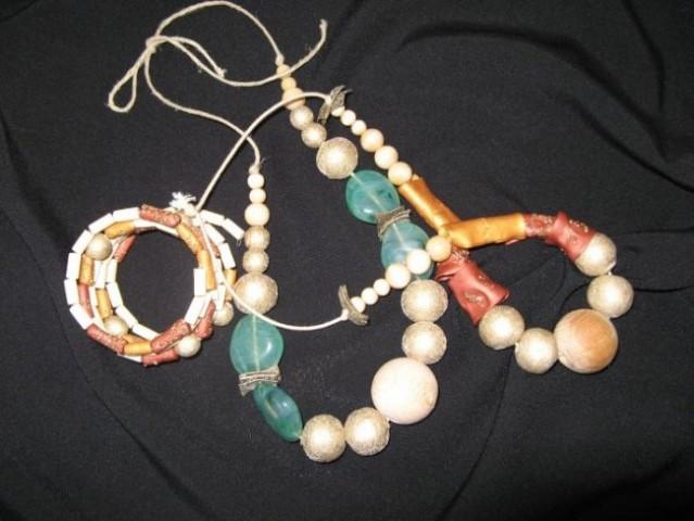 Modni unikatni nakit ročne izdelave