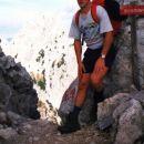 Na vrhu Turškega žleba  13.10.2001