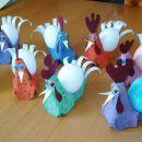 velikonočne kokoške