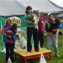 Skupni razultat državnega prvenstva je: Dora Štros in njena dva kužka na drugem in tretjem