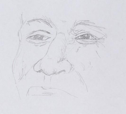 Poskus v ustvarjanu slik/risb - foto