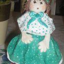 prve punčke iz slanega testa - ko so nastale, je bila avtorica - moja Tina stara 12 let