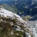 Pogled z vrha na Krnsko jezero