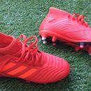 Adidas Predator za mehki teren (kovinske zagozde) UK 4 1/2 EU 37 1/3 kot novi 30 eur