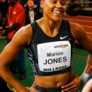 In 2004 comming back after her 2003 baby pause, and winning in New York the 60m!