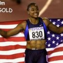 Her 1st 200m w.champ. gold medal ever!