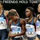 Even when there comes the really difficult times, the REAL frinds still hold together!! Th