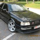 My new toy - Audi S2 2.2l 5cyl 20V TURBO QUATTRO! - Front