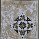 butterfly ornament 5/8