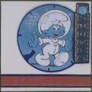 Smurfs astronaut 1/2 gone to Helen S 1969
