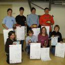 Ob koncu tekmovalnega leta 2007 sem v JKB prejel posebno priznanje za najperspektivnejšega
