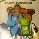 Zmagal sem tudi svojo zadnjo tekmo v kategoriji CICIBANI. Na KOROŠKA OPEN 2008 (+50kg) sem
