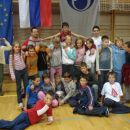 Pokal mesta Jesenic. Ekipna zmaga JK Bežigrad in moja zmaga med cicibani l.97,98 do 50kg.