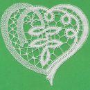 srcek, ki je bil ucna cipka za ucenje zacetkov na spici