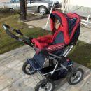 kombiniran otroški voziček