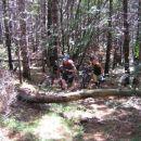 Najhujši deli gorskega kolesarjenja