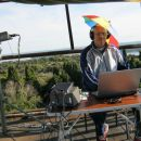 Maki 9A4ZM operating July 2010 SHF contest on 10 GHz from JN64VU