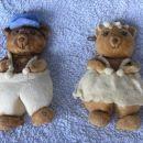 Gospod in gospa Medvedova iz slanega testa.