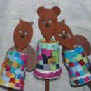 Lutke s kuhalnico (hvala, dreja), narejene v vrtcu.