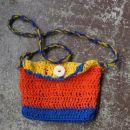 Moje prvo kvačkanje - torbica za hčerko! Hvala Pejični za inštrukcije, kvačko in kvačkanec