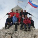 Dan državnosti na vrhu Triglava.