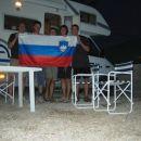 Malo pred osmo uro zvečer smo prispeli v naš kamp, ki je približno 10km oddaljen od centra