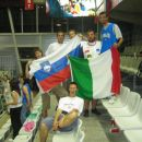 Bili smo eni redkih Slovencev na dotični tribuni, imeli smo celo to