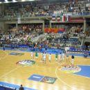 Po zmagi nad Francozi so se naši košarkaši na dolgo in široko zahvaljevali navijačem za po