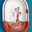 Fox Terrier - (16x12,5cm) - 10 €
