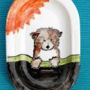 Collie Rough puppy - (16x12,5cm) - 10 €