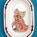 caIrn terrier puppy (16x12,5cm) - 10 €
