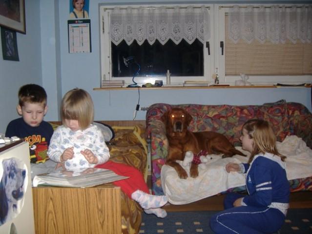 Psi in otroci - foto