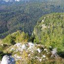 Pogled na nadaljevanje grebena Stadorja (priti prelazu Prodi)